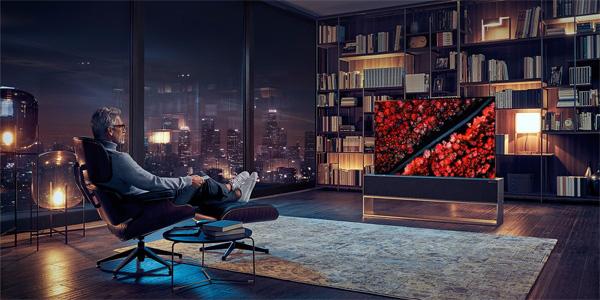 Интерьерный телевизор LG SIGNATURE OLED R